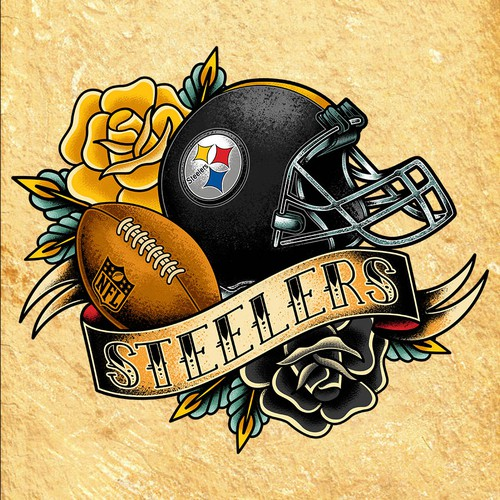 American Traditional Style Steelers
