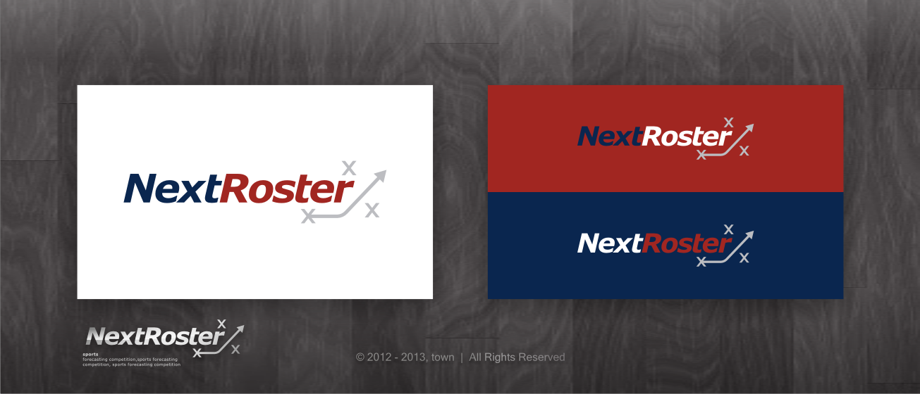 Create the next logo for NextRoster