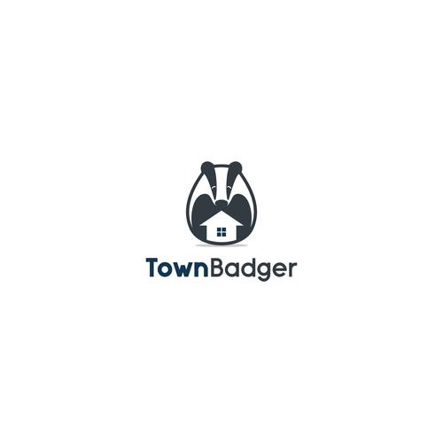 Logo concept for TownBadger