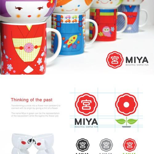 Logo Design for Miya Company