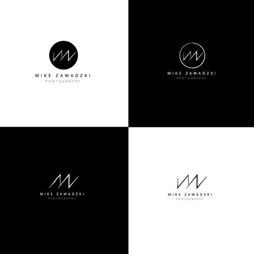 A Modern Dramatic Logo for Mike Zawadzki Photography
