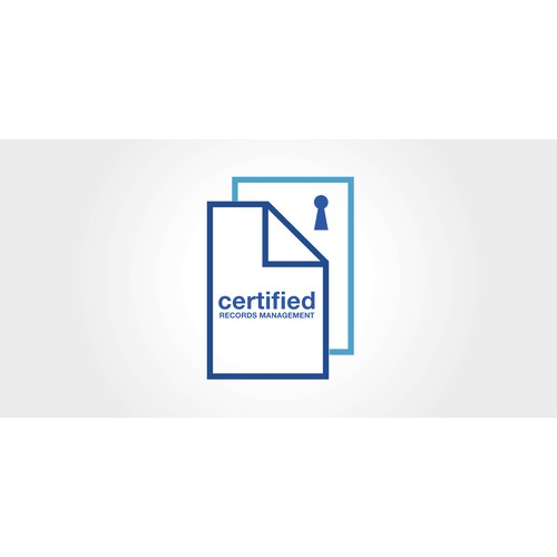 Create the next logo for CERTIFIED Records Management