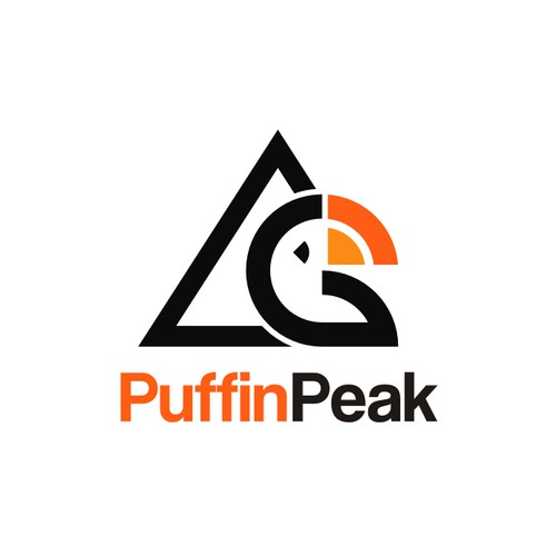 Logo design for PuffinPeak