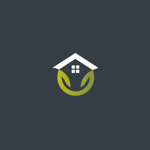 Design a logo for a real estate rehab/development firm specializes in smart homes/green living