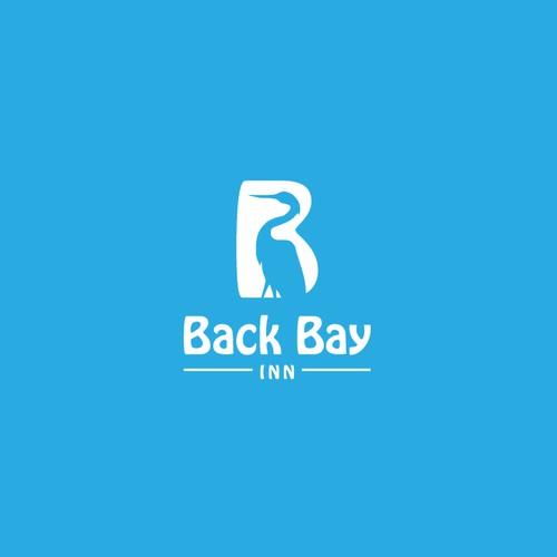 Bold Logo Concept For Back Bay Inn