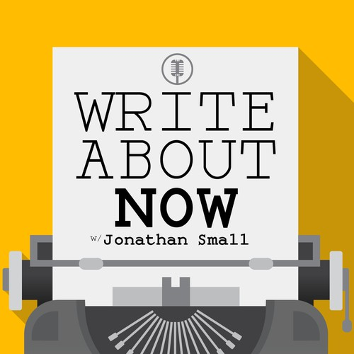 Write About Now Podcast Cover Concept