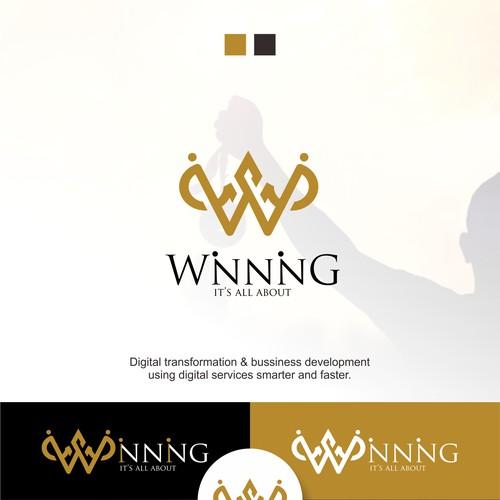 Crown Logo Letter W