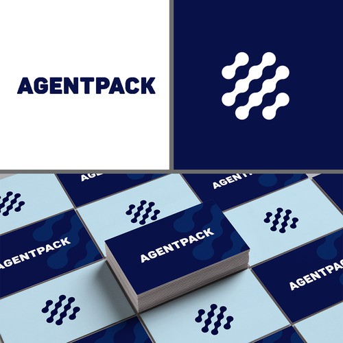 Logo concept for Agentpack