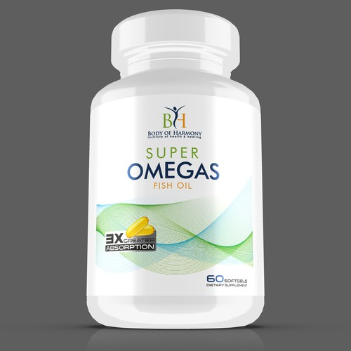 SUPER OMEGS FISH OIL