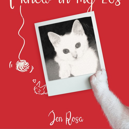 E-book Cat Cover ~ photomontage