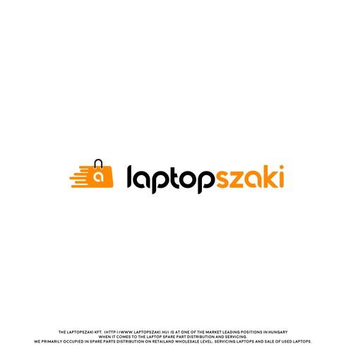 Laptop Expert modern logo