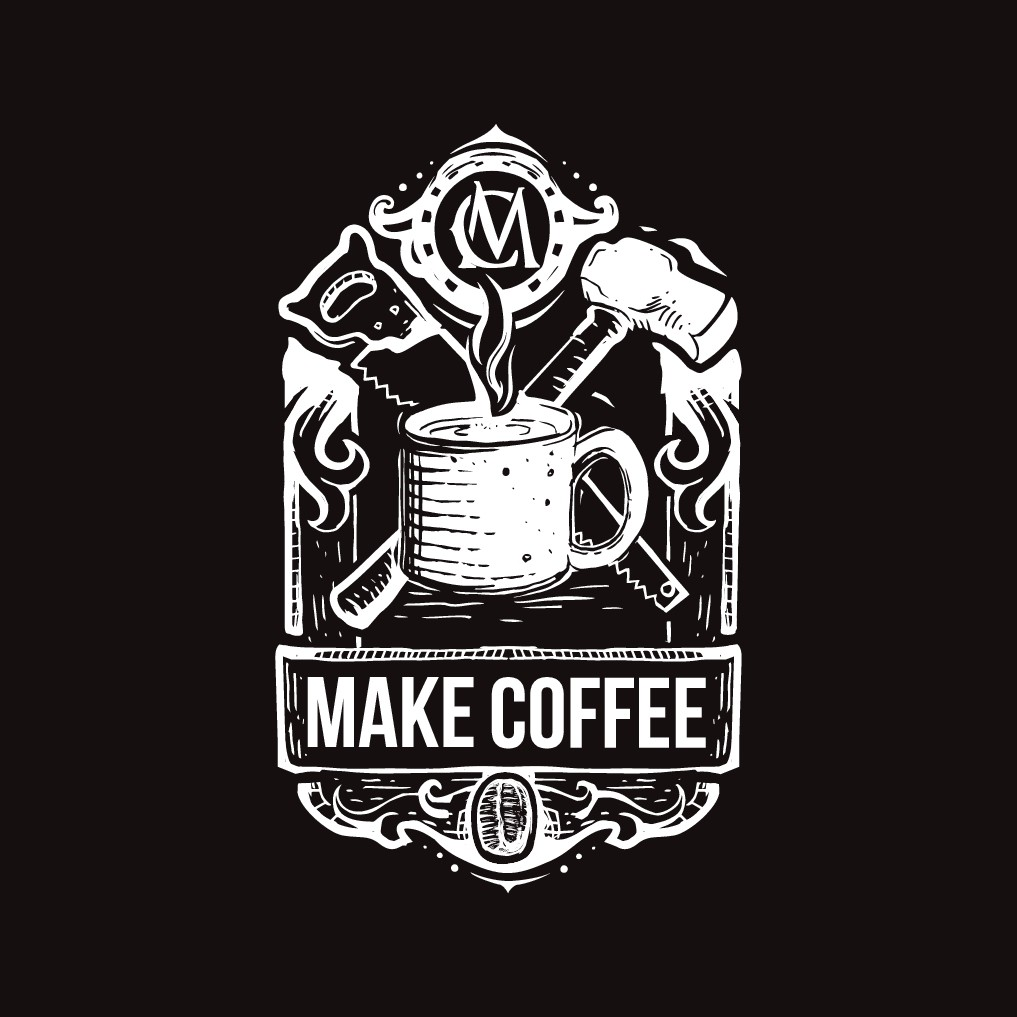 Design a coffee logo for artists