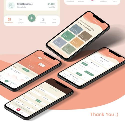 iOs App Design for Wimzee