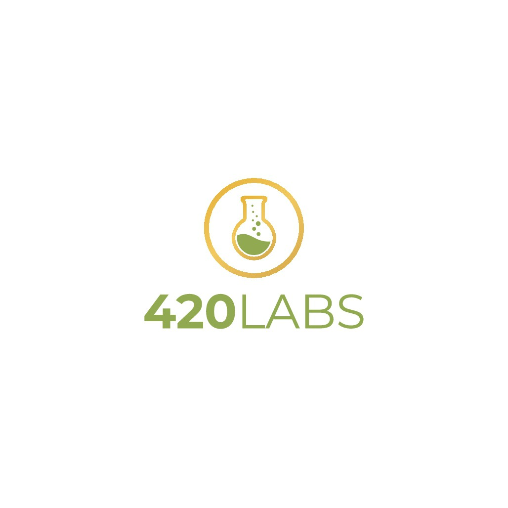Medical marijuana testing lab logo to appeal to marijuana cultivators