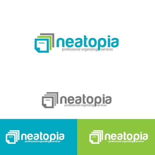 Create a simple, clean, yet sophisticated logo for Neatopia, LLC.