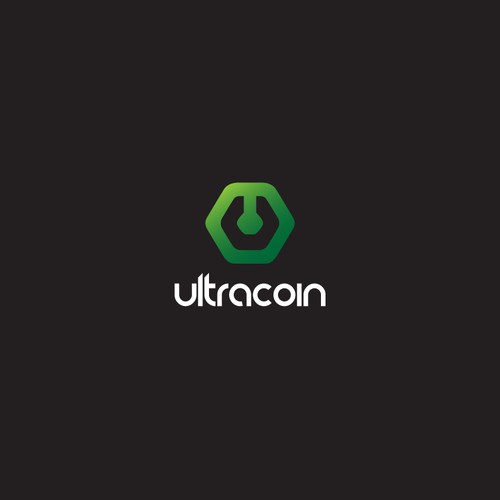 Create an iconic logo for the cryptocurrency Ultracoin!