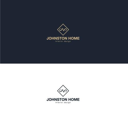 Johnston home logo