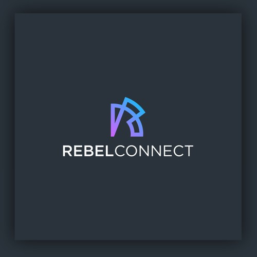 logo for rebel connect