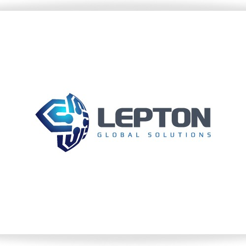 Help Lepton Global Solutions with a new logo and business card