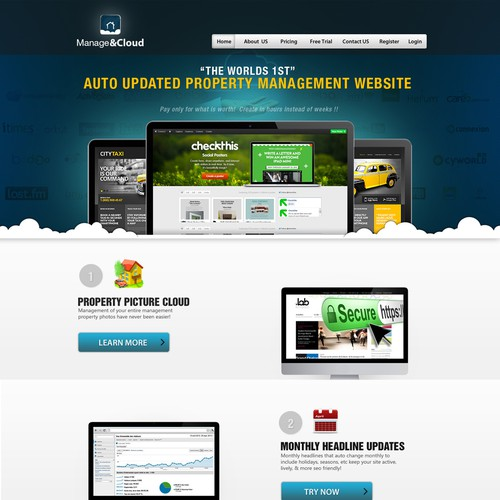 Wanted: Marketing Home Page - FAST Feedback - Quick Project