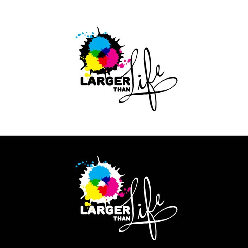 Create an amazing new logo for Larger Than Life Prints