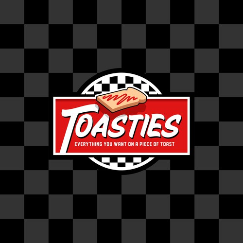 Badge logo for Toasties