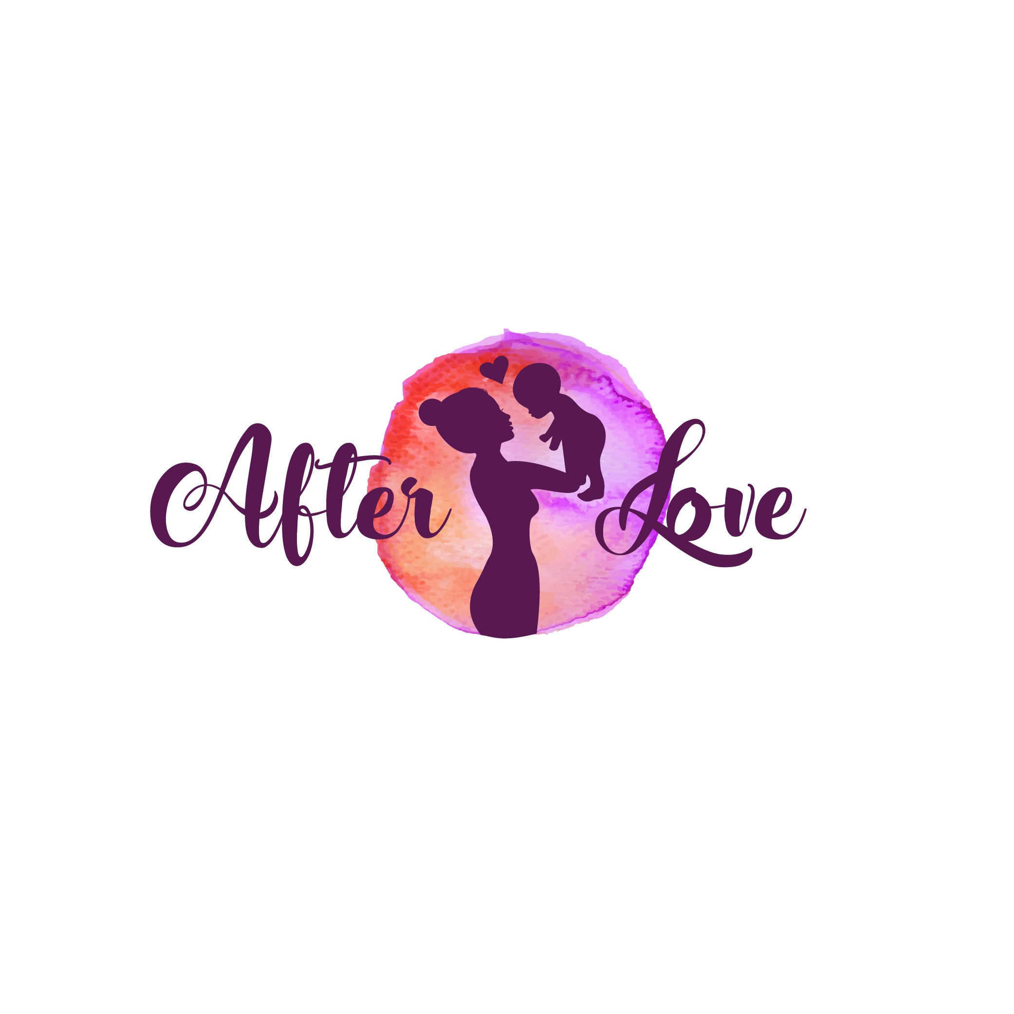 Postpartum Doula looking for feminine logo for AfterLove