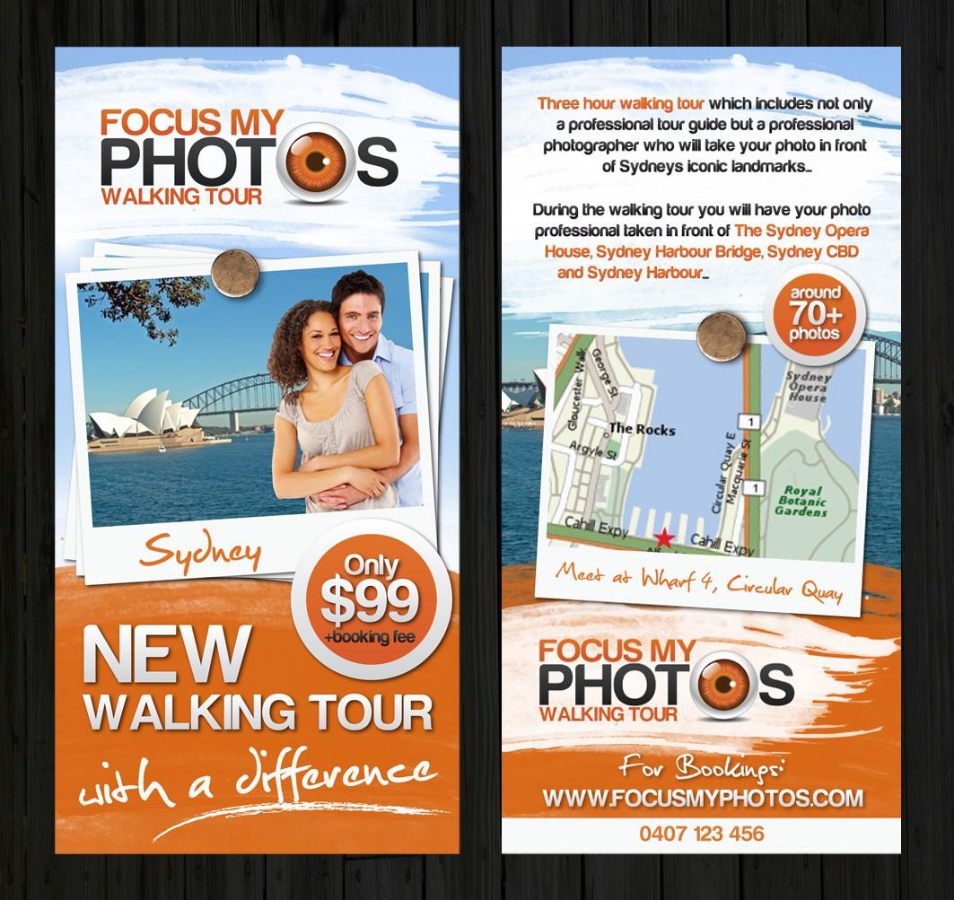 postcard or flyer for Focus My Photos
