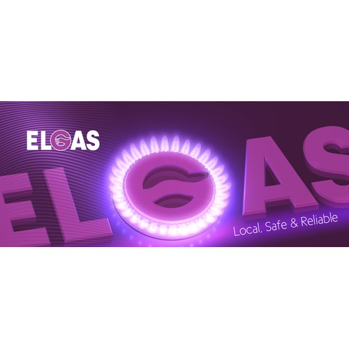 Branding Signage for Elgas