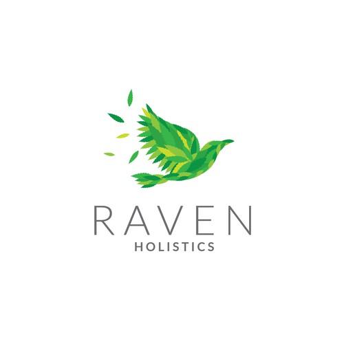 Raven Holistics Logo
