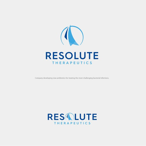 Strong, steady and unwavering logo concept for Pharmaceutical company