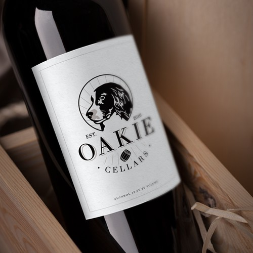 Logo concept for a wine cellar