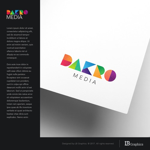 Logo proposal for marketing agency.