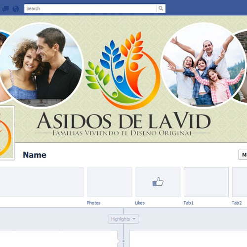 Create an Attractive Facebook Cover for Asidos de la Vid