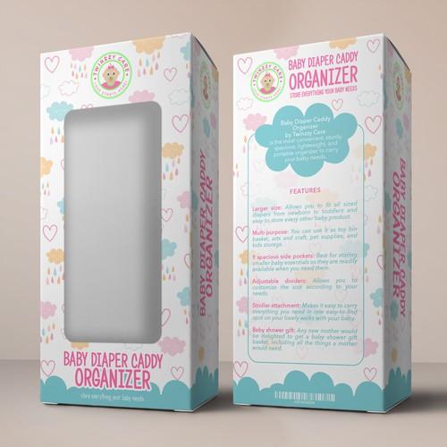 Box for baby organizer