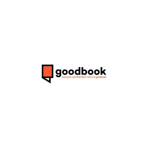 Logo for goodbook podcast