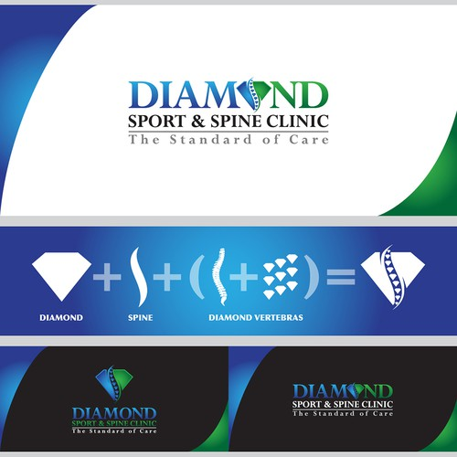 logo for Diamond Sport & Spine Clinic