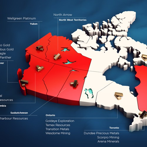 Gold Mining Camps on Canada