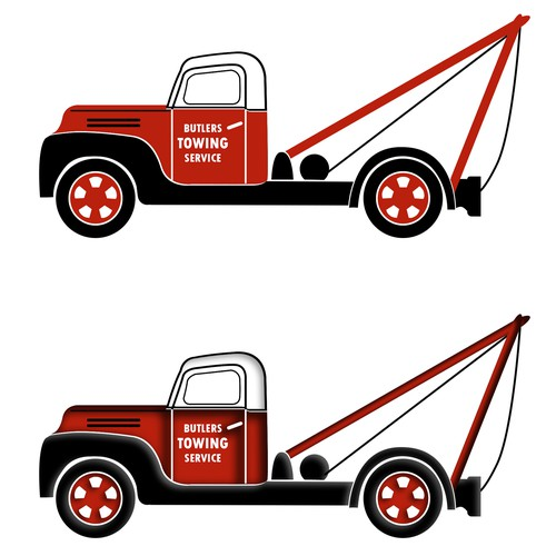 Create a late 50's/early 60's design for iconic restored panel van