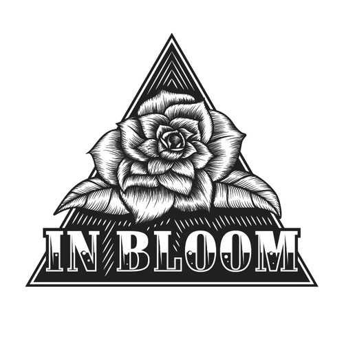 Logo concept for IN BLOOM music producer