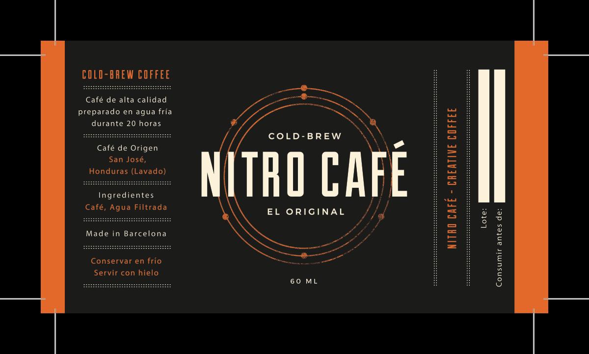 NITRO CAFE Product Labels