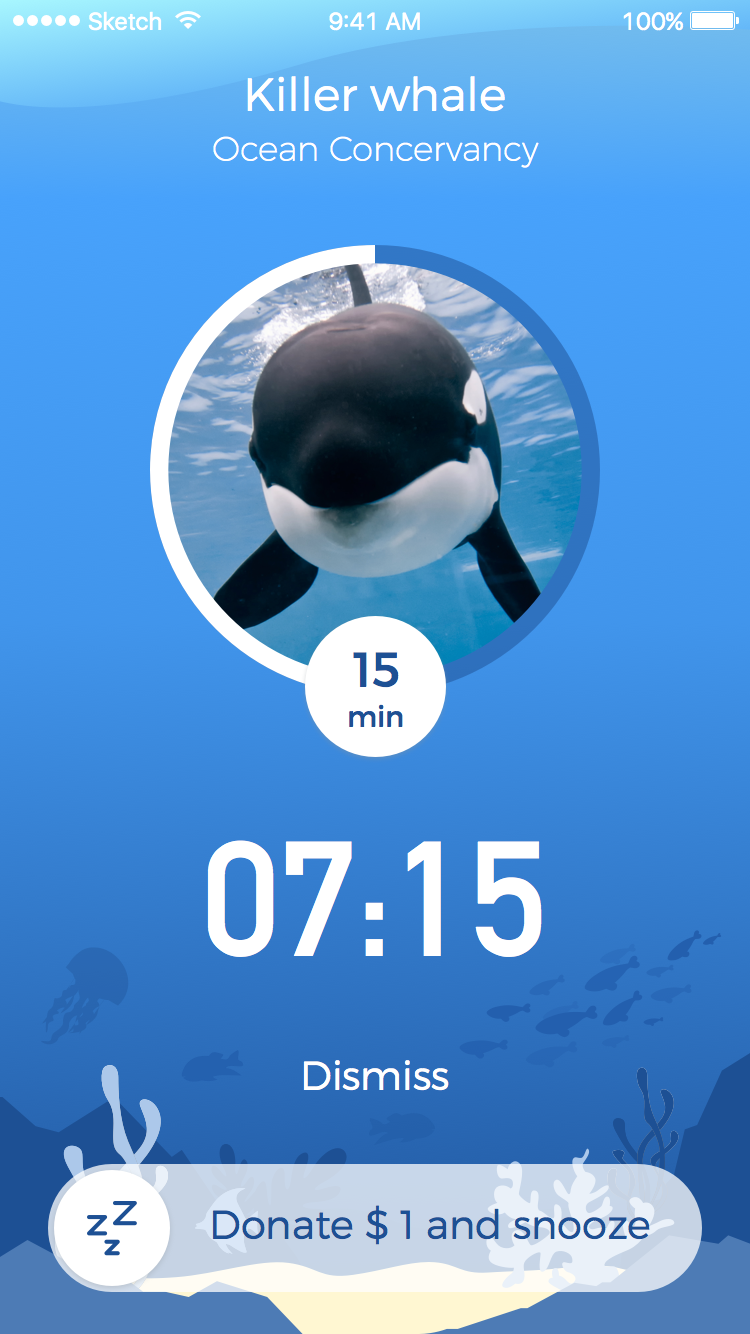 Zooster - The iPhone alarm clock app for endangered species!