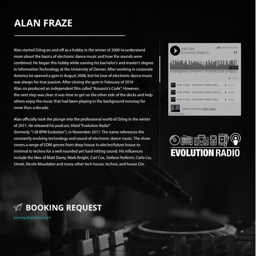 Alan Fraze Website resign