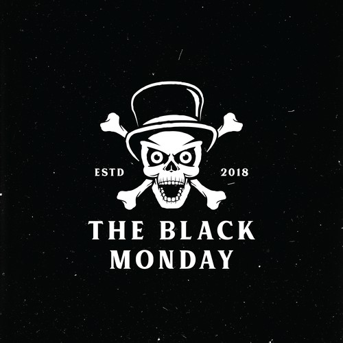 concept logo for the black monday