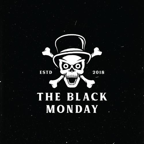 concept logo for the black monday