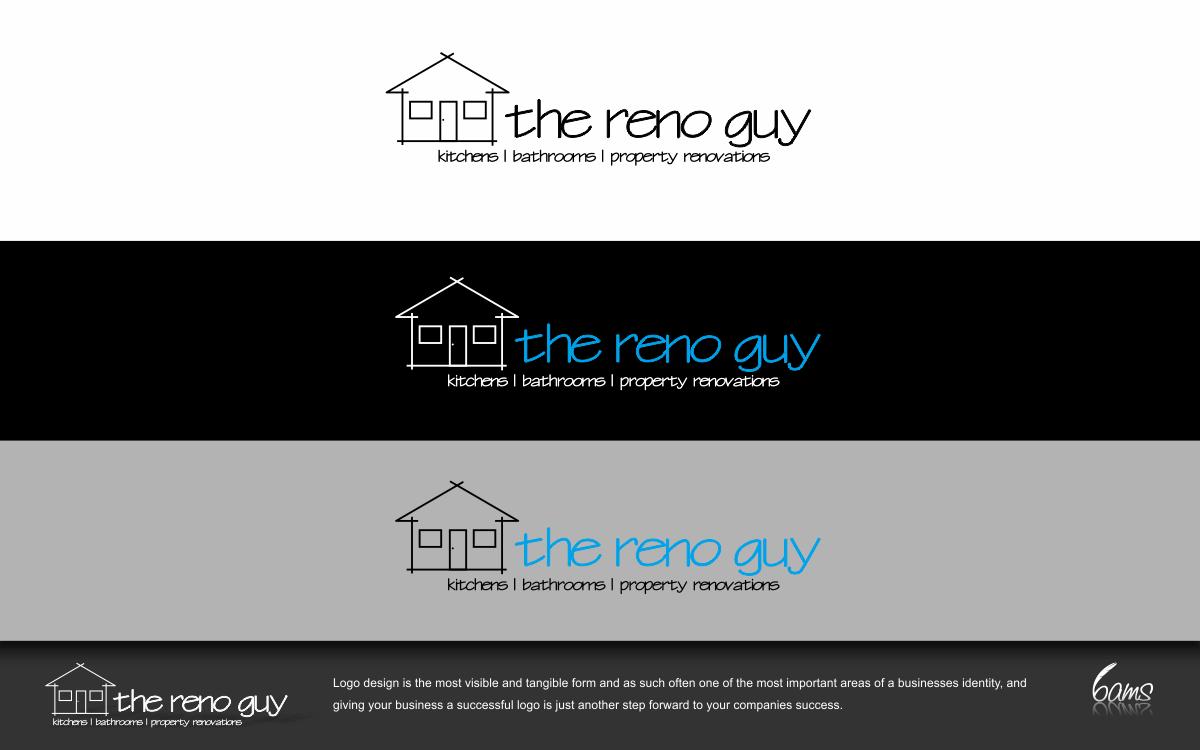 Create the next logo for The Reno Guy