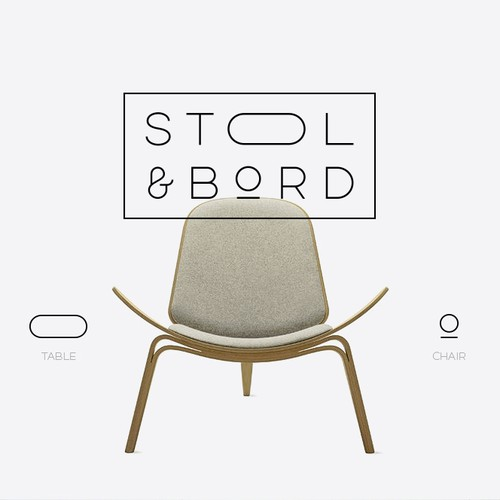 Create a visual identity for high end furniture & homewares retailer