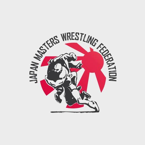 Logo for Japan Masters Wrestling Federation