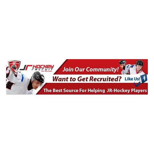 Jr Hockey Recruit Banner Ad