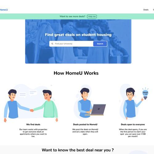 HomeU - Graphic Design